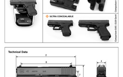 Newsletter: GLOCK 43 Single Stack 9mm