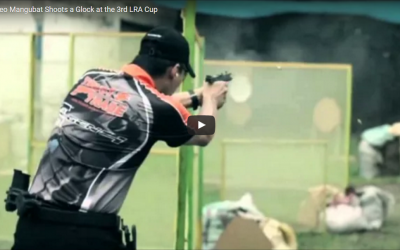 Watch TRUST TRADE Shooter Leo Mangubat aim with his GLOCK at the 3rd LRA Cup!