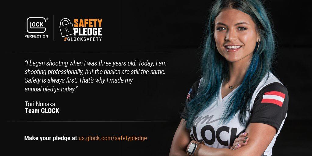 Tori Nonaka on her GLOCK Safety pledge